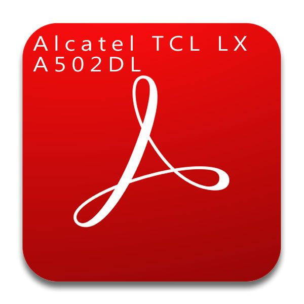 Alcatel TCL LX A502DL User manual / Guide